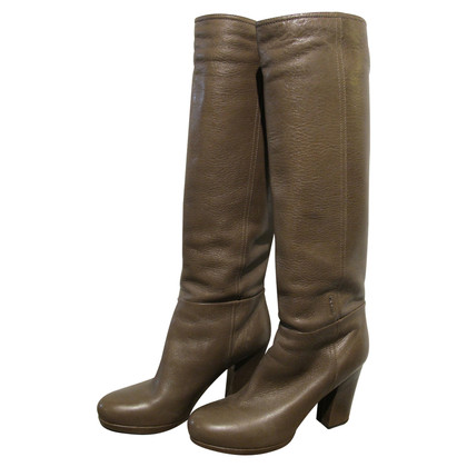Prada Tall boots in leather