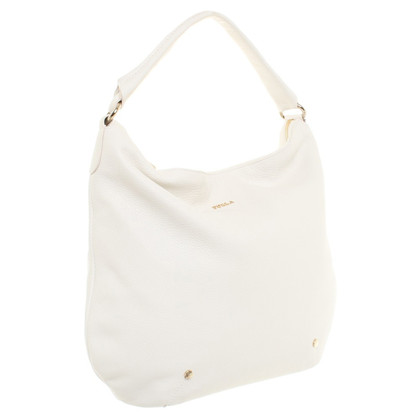 Furla Hobo Bag in bianco