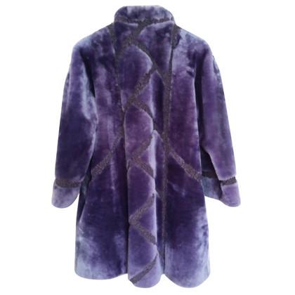 Christian Dior Coat beaver sheepskin