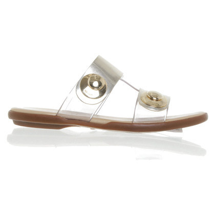 Hogan Golden sandals