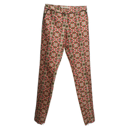 Dorothee Schumacher Silk pants with colorful patterns