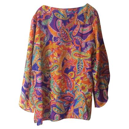 Ralph Lauren Silk blouse with print