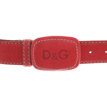 Dolce & Gabbana Belt in red