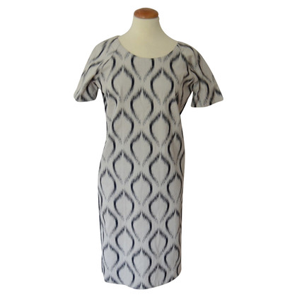 Humanoid robe longueur genou ikat