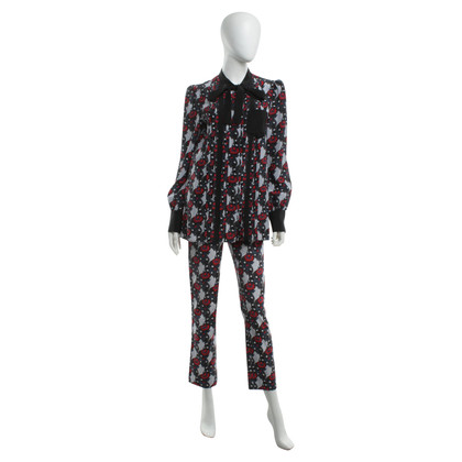 Prada Silk blouse and trousers