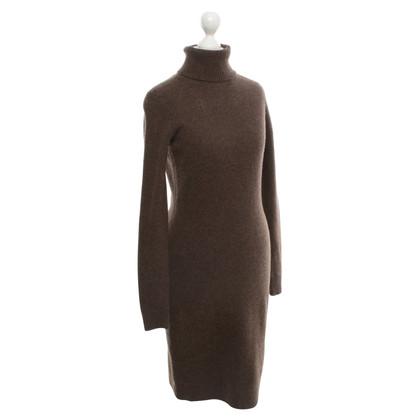 Ralph Lauren Gebreide jurk in bruin
