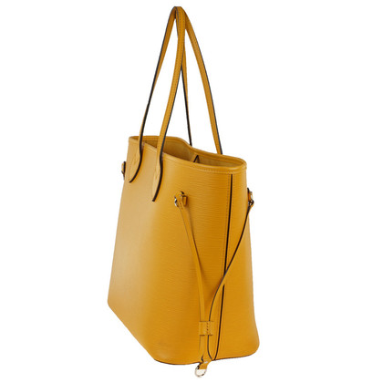 "Louis Vuitton ""Neverfull EPI' in yellow with Pochette"