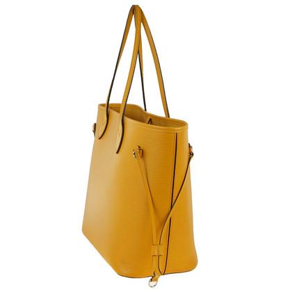 "Louis Vuitton ""Neverfull EPI' in giallo con Pochette"