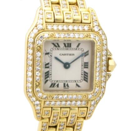 Cartier Orologio da polso in oro 18 carati