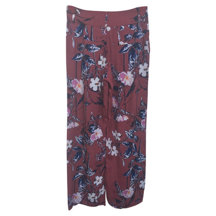 "Gestuz trousers ""Mary"" with flower print"