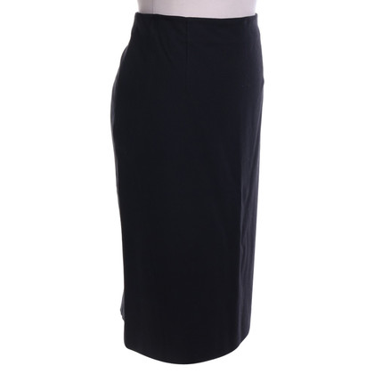 Marc Cain skirt in black and blue