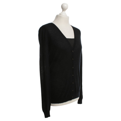 7 For All Mankind Weicher Pullover in Schwarz