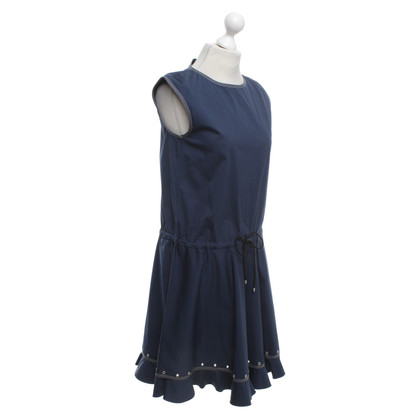 Fay Sleeveless dress in dark blue