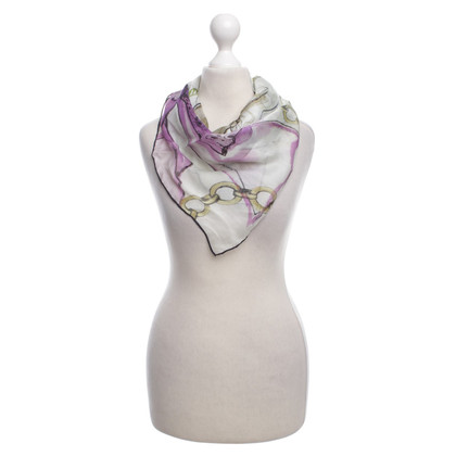 Valentino silk scarf with floral print