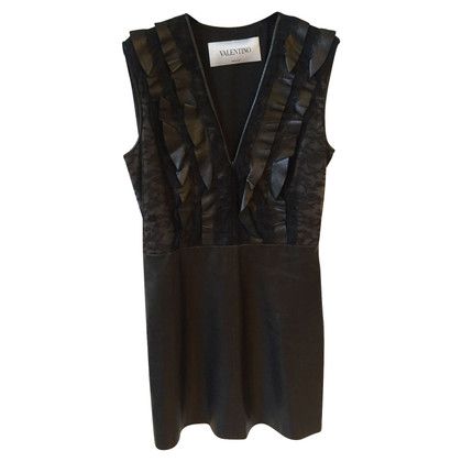 Valentino Dress made of leather