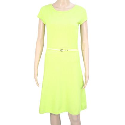 Luisa Cerano Vestito di verde neon