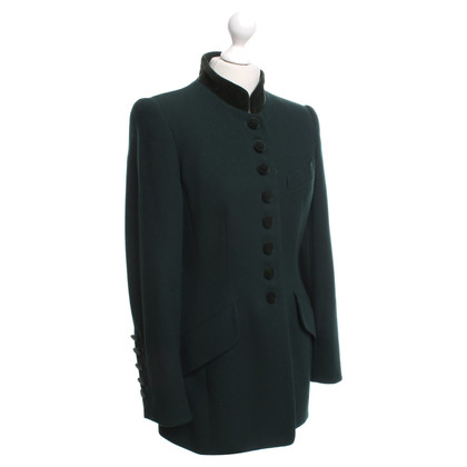 Rena Lange Blazer in dark green