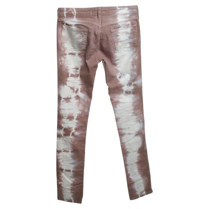 Isabel Marant Jeans im Batik-Look