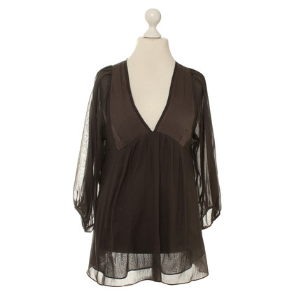 Vanessa Bruno Tunic blouse of proportion of silk
