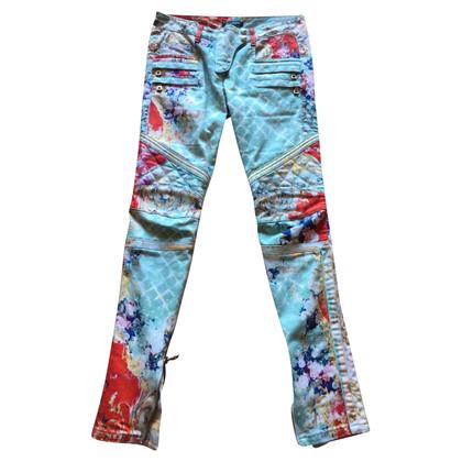 Balmain Jeans Biker di Balmain