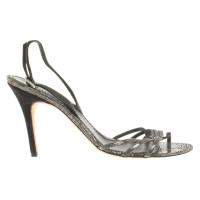 Loewe Sandals with Reptile Print
