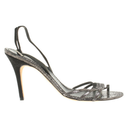 Loewe Sandals with Reptile Print