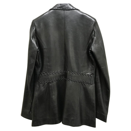 Vent Couvert leather blazer