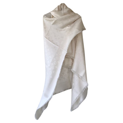 Louis Vuitton panno Monogram in crema bianco