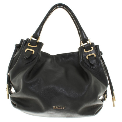 Bally lederen tas in zwart