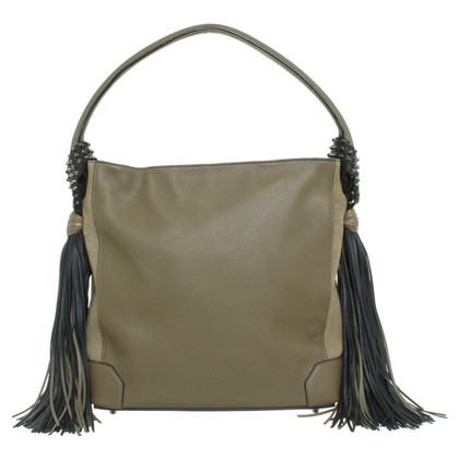 "Christian Louboutin ""Elouise Hobo Bag"" in khaki"