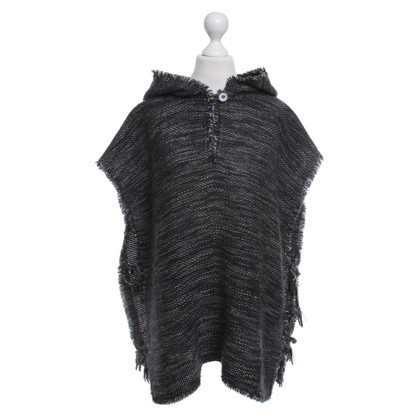 Isabel Marant Poncho with pattern
