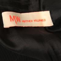 Matthew Williamson Shorts mit goldfarbenem Effektgarn