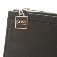 hugo boss portemonnaie in schwarz second hand hugo boss. Black Bedroom Furniture Sets. Home Design Ideas