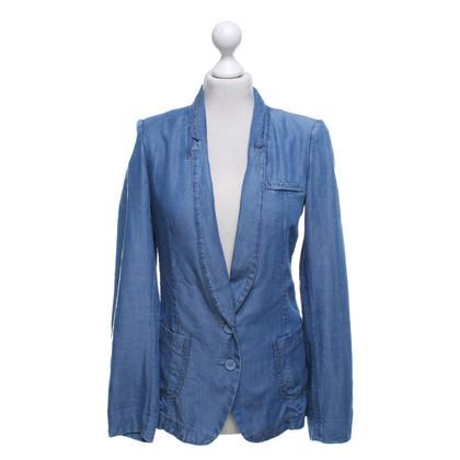 Patrizia Pepe Giacca sportiva di jeans in blu