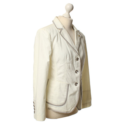 Blonde No8 Blazer in Creme