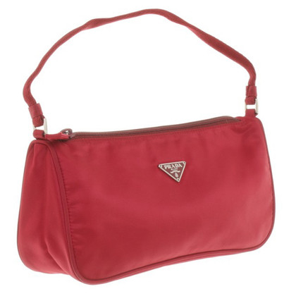 Prada Small handbag in Bordeaux