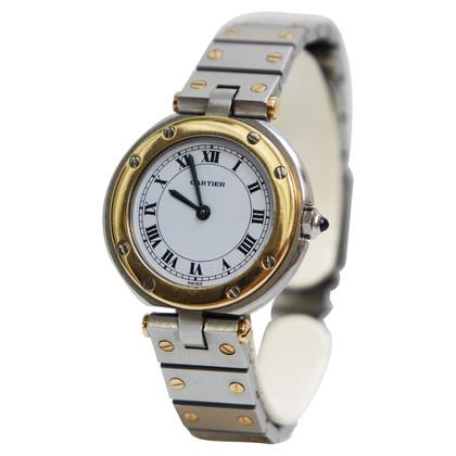 """Cartier Wristwatch """"Santos Ronde Steel / Gold 18K"""""""
