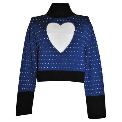 Fendi FENDISSIME cropped sweater