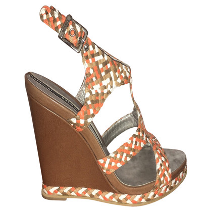 Baldinini Orange Wedges