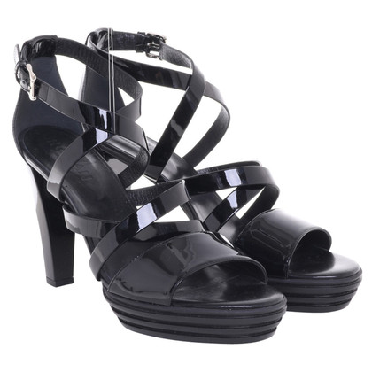 Hogan Sandals in black
