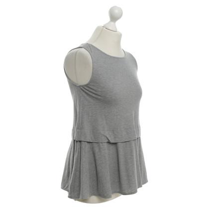 Odeeh Top in mottled grey