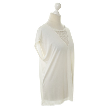 Sandro Top with lace insert