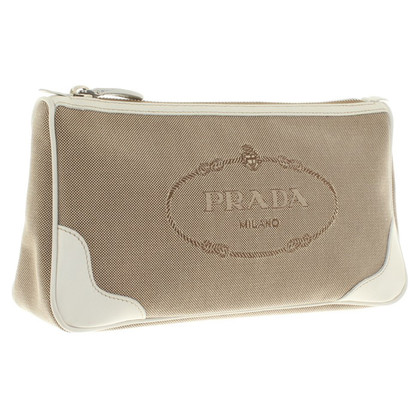 Prada clutch in Bicolor
