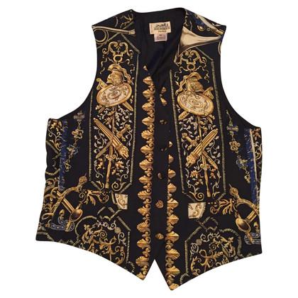Hermès zijde vest