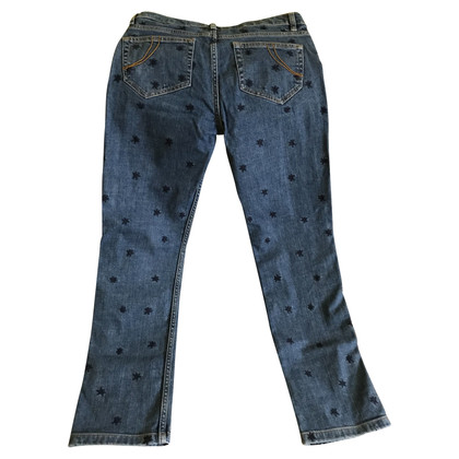 Maje Jeans with embroidery