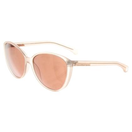 Calvin Klein Sonnenbrille in Nude