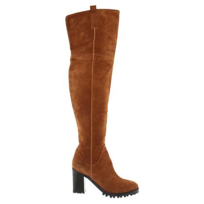 Sebastian Knee suede boots