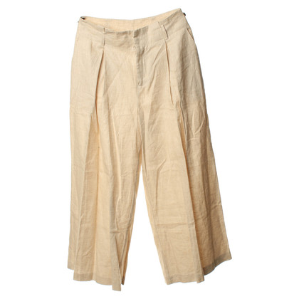 Opening Ceremony Linen trousers in beige
