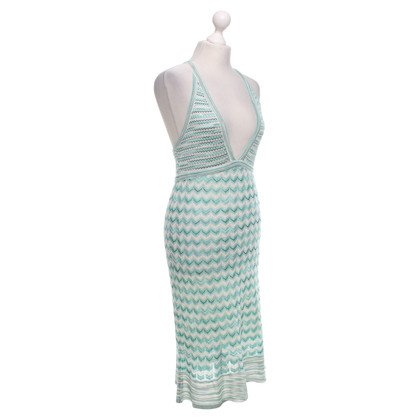 Missoni Knit dress in turquoise