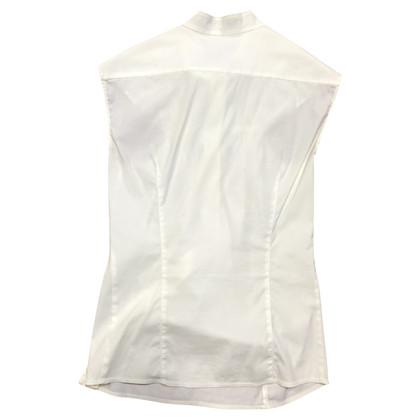 Prada Sleeveless blouse in white